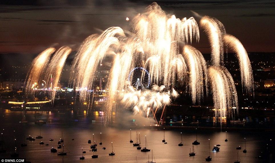 Kinds of Fireworks